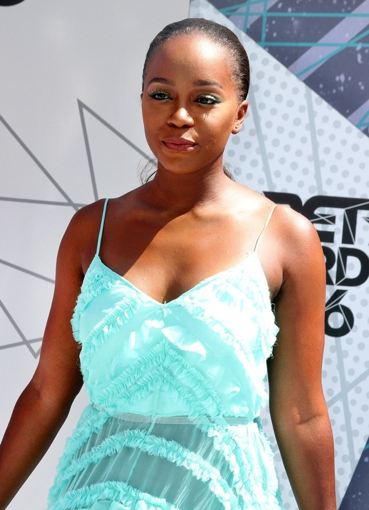 Aja Naomi King at the 2016 BET Awards