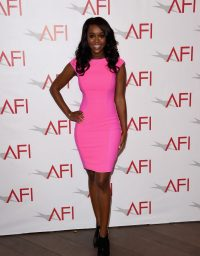 Aja Naomi King at the 2015 AFI Awards in Beverly Hills - 1