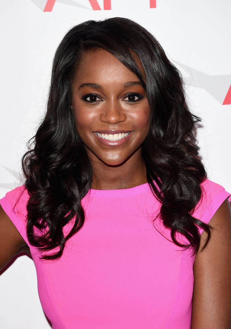 Pictures: Aja Naomi King at the 2015 AFI Awards