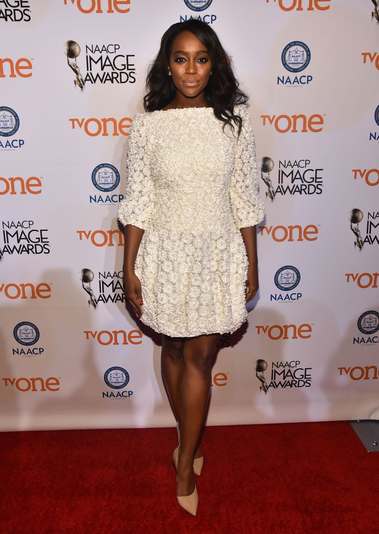 Aja Naomi King at 2015 NAACP Image Awards