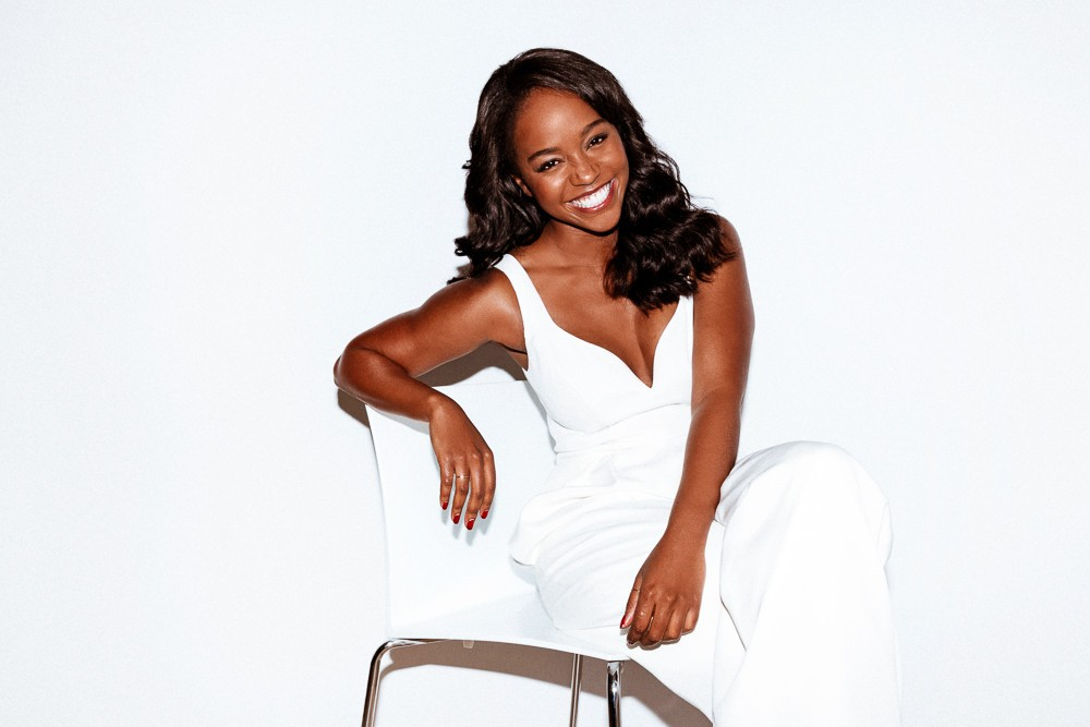 Aja Naomi King 'Into The Gloss' photos and interview