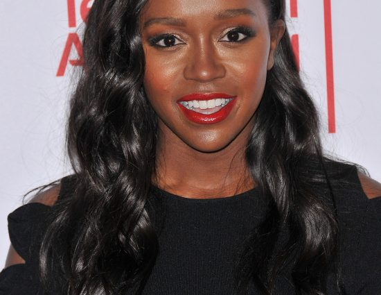 Aja Naomi King at Television Academy 2017 Hall of Fame Induction Ceremony