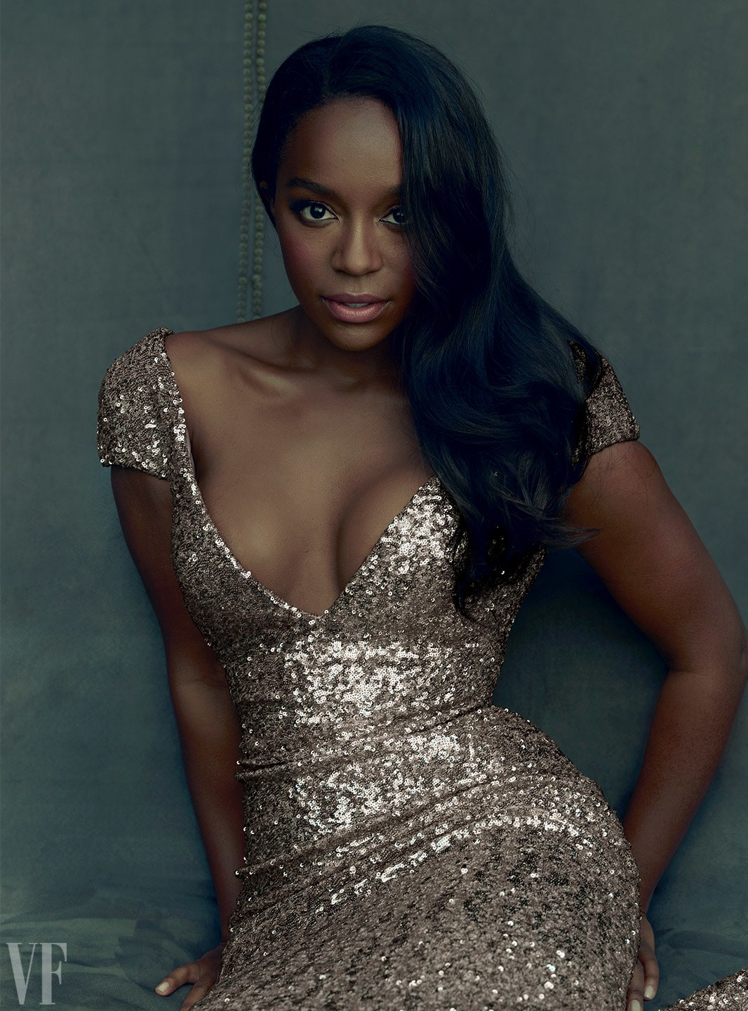 Aja Naomi King in Vanity Fair's 2017 Hollywood Issue