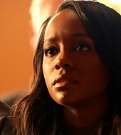 Aja Naomi King in HTGAWM 3x12 'Go Cry Somewhere Else'