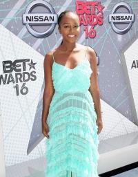 Aja Naomi King at the 2016 BET Awards