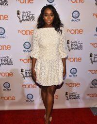 Aja Naomi King at 2015 NAACP Image Awards
