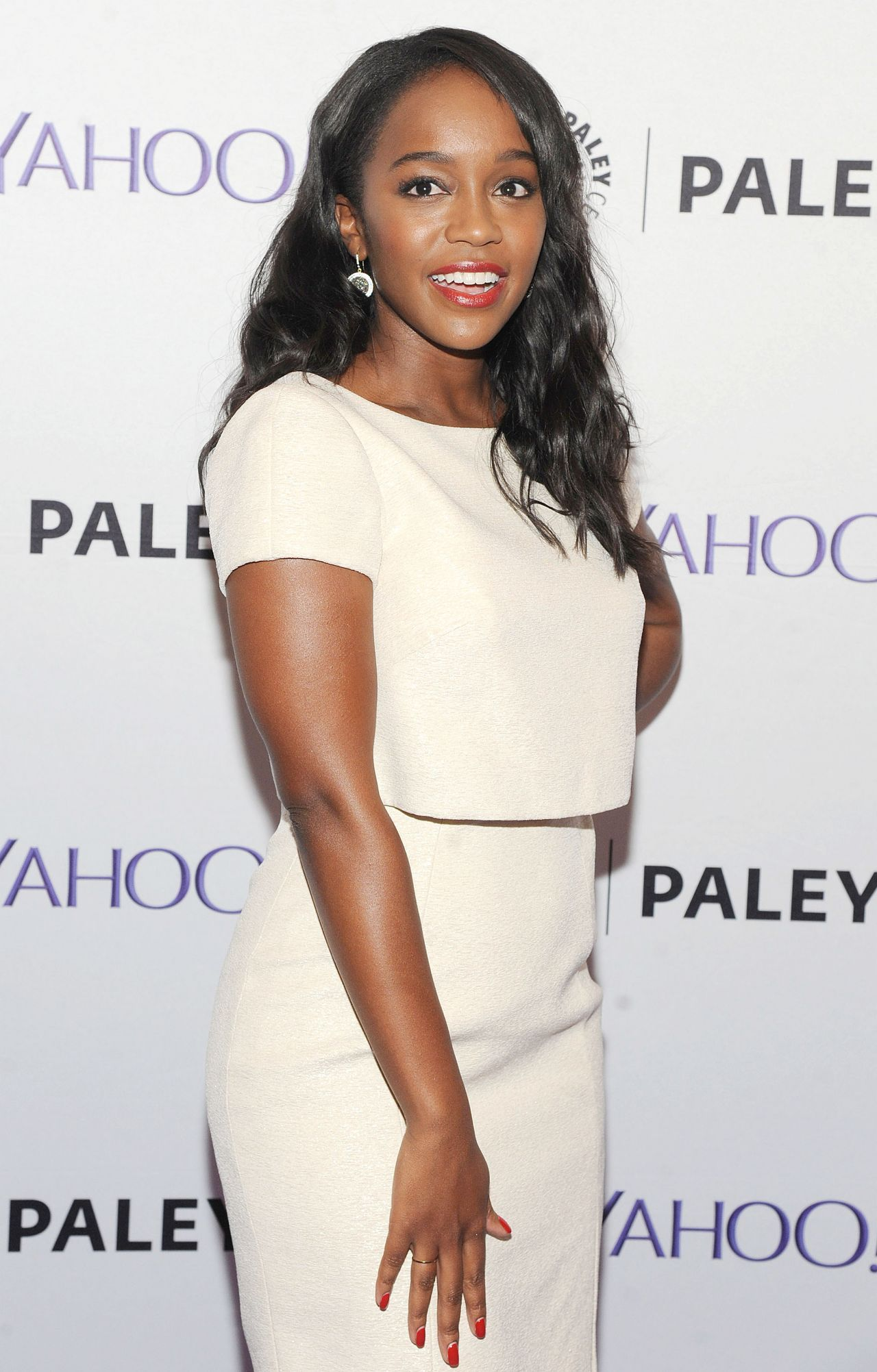 Pictures: Aja Naomi King at PaleyLive NY Presents the Cast of 'How to Get Away with Murder' in New York