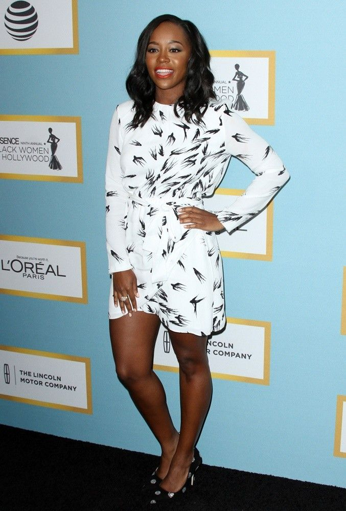 Aja Naomi King at Essence Black Women in Hollywood Luncheon