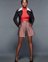 Aja Naomi King - Who What Wear Rising Stars 2015