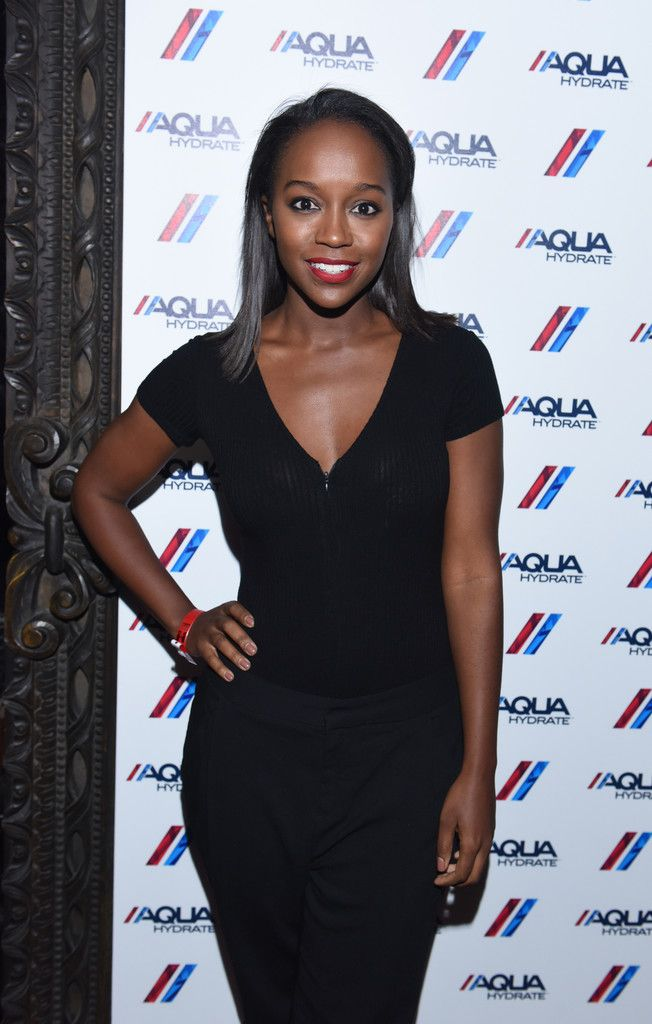 Aja Naomi King at 2016 AQUAhydrate Event