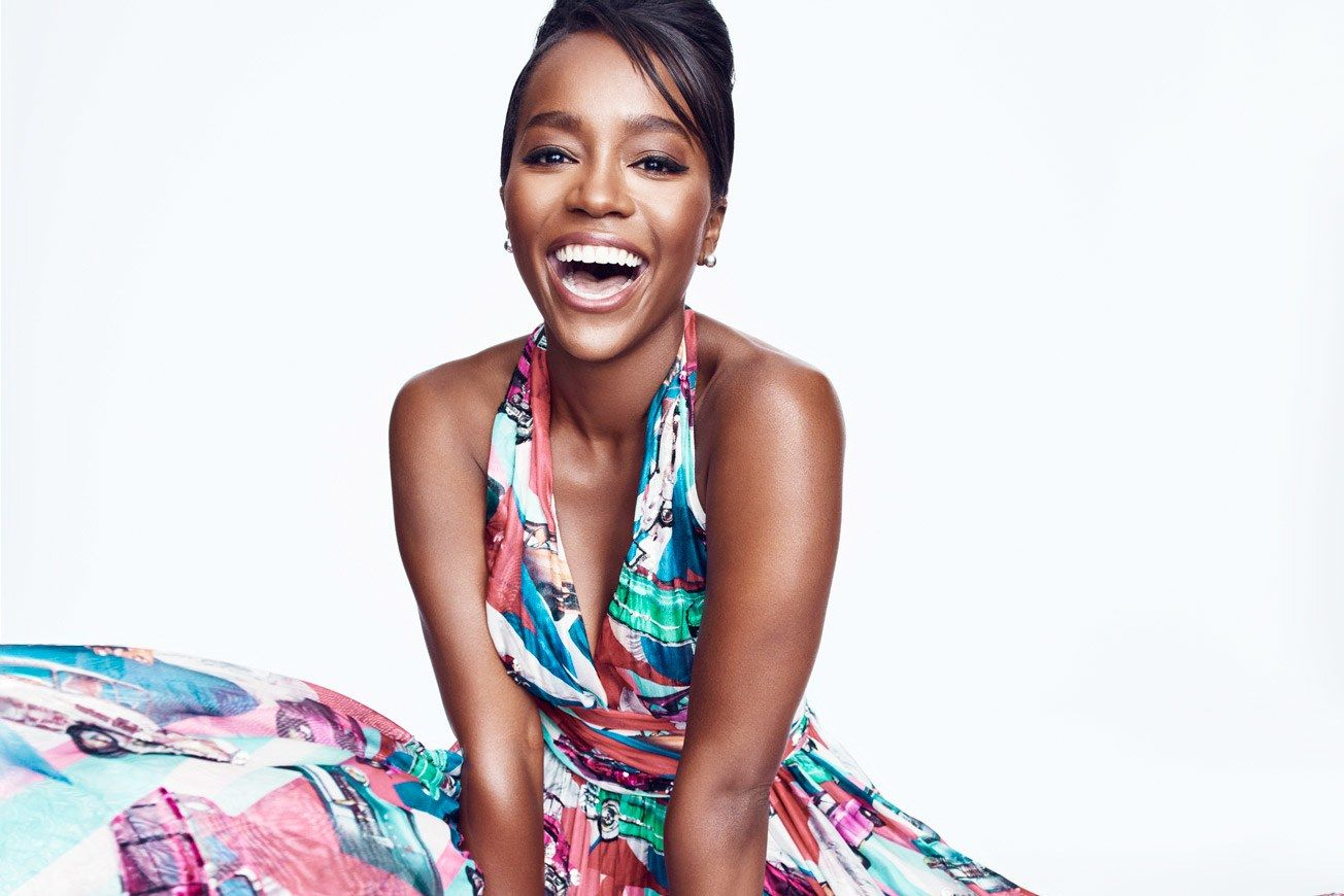 Aja Naomi King for Vanity Fair October 2016