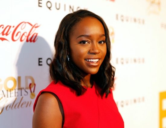 Aja Naomi King at Gold Meets Golden Event