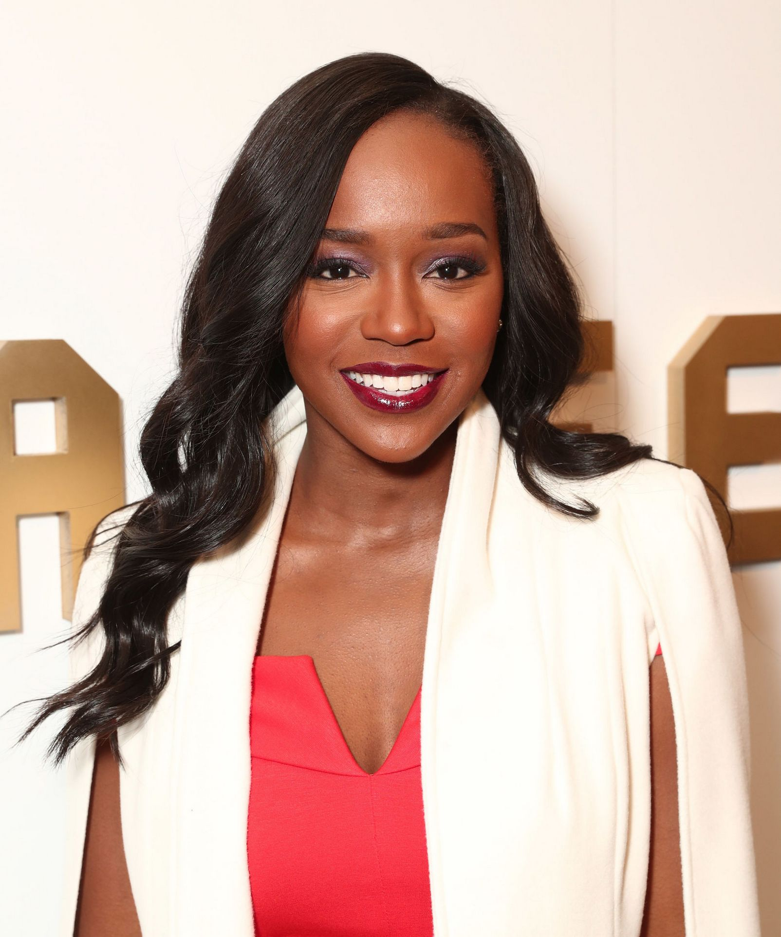 Aja Naomi King at the 8th Annual Oscars Sistahs Soiree