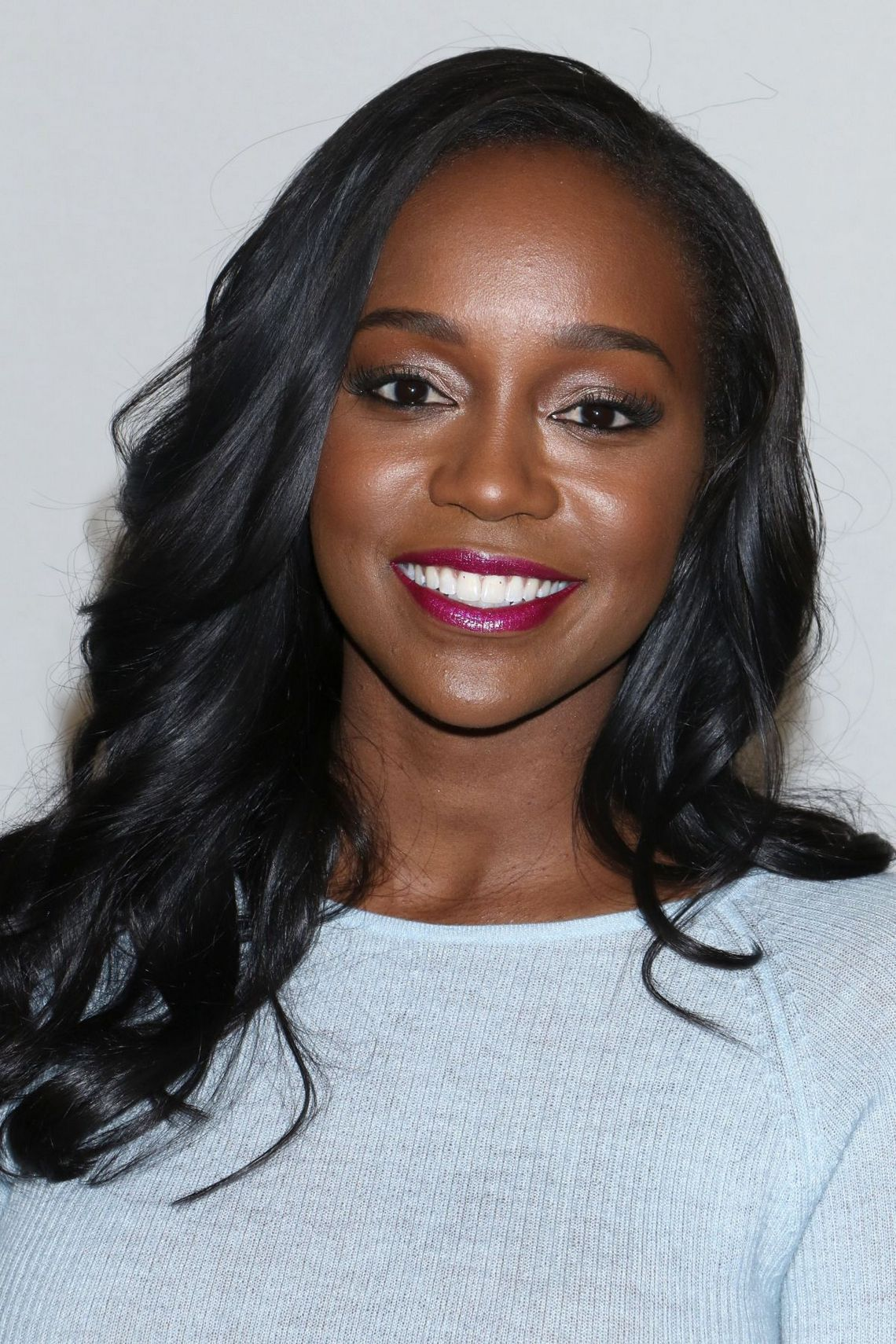 Pictures: Aja Naomi King attends Prabal Gurung Fashion Show at NYFW