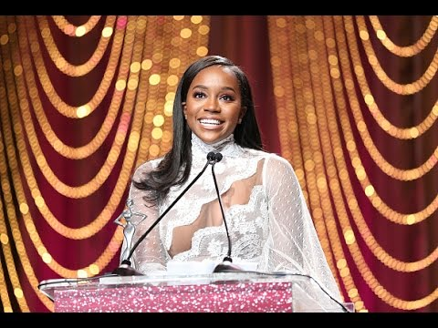 Watch: Aja Naomi King's touching speech at the Essence Black Women In Hollywood Awards