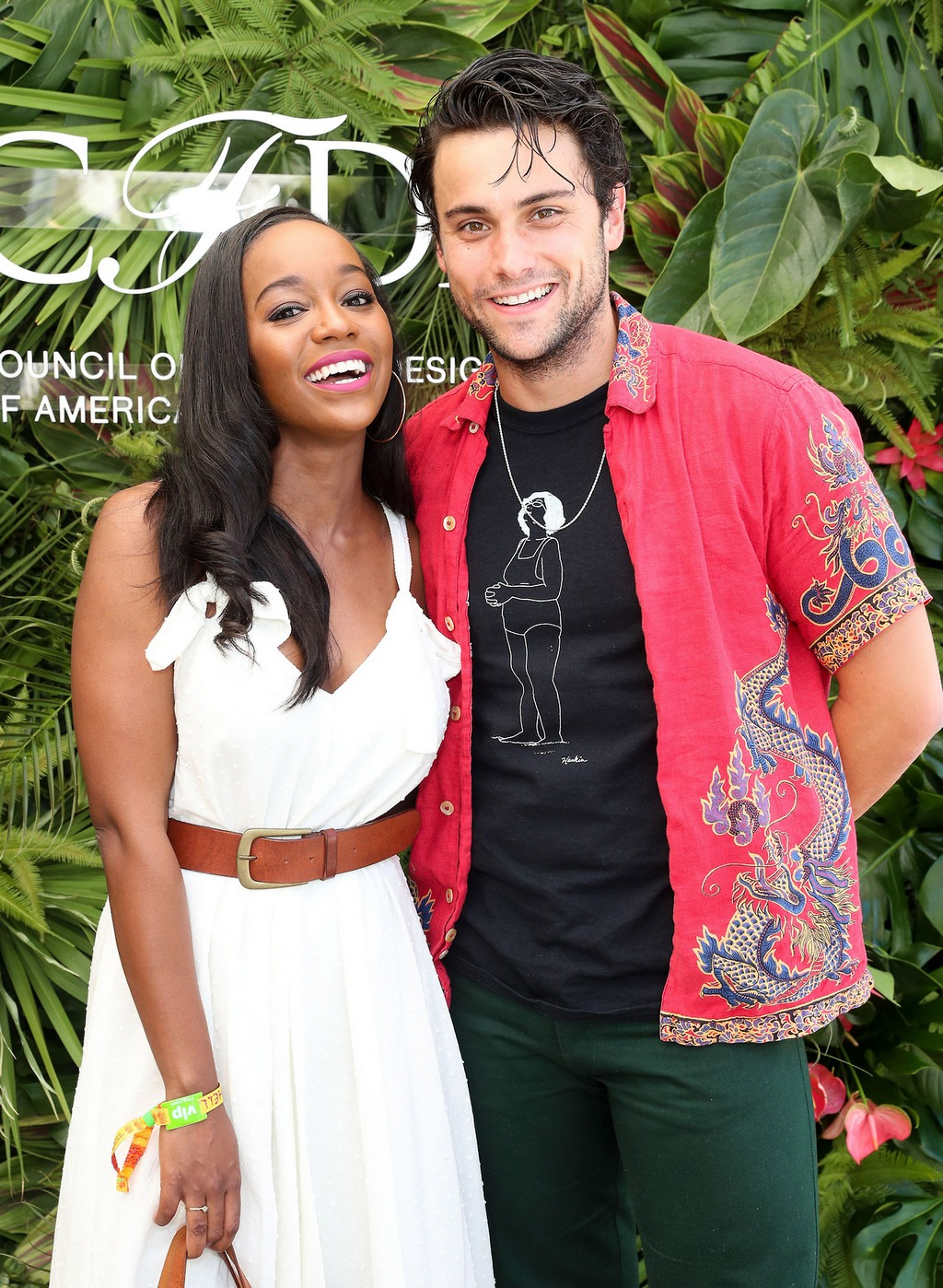 Aja Naomi King at Coachella 2017