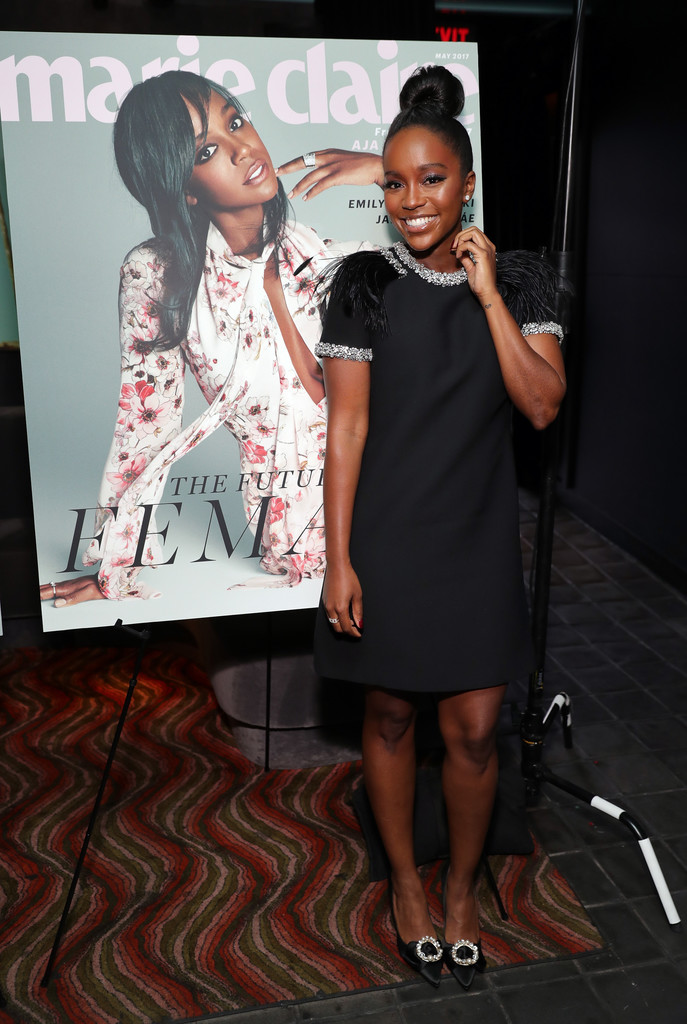 Aja Naomi King attends Marie Claire 'Fresh Faces' event