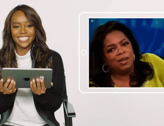 Aja Naomi King plays Plead the GIF for Oprah Mag