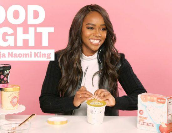 Aja Naomi King Tries High-Protein Ice Cream
